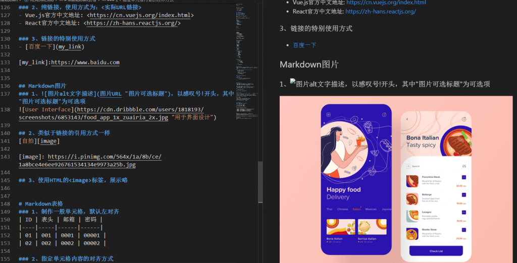 VSCode markdown编辑器