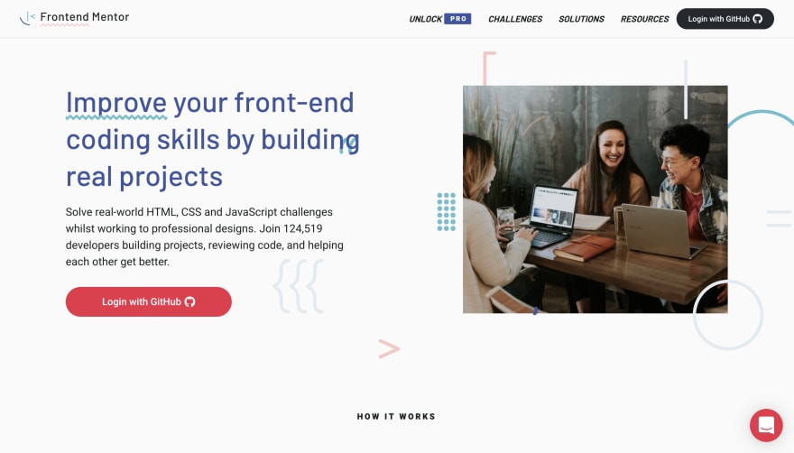 CSS资源: Frontend Mentor