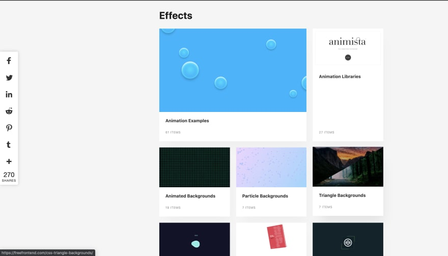 CSS工具:Free Frontend